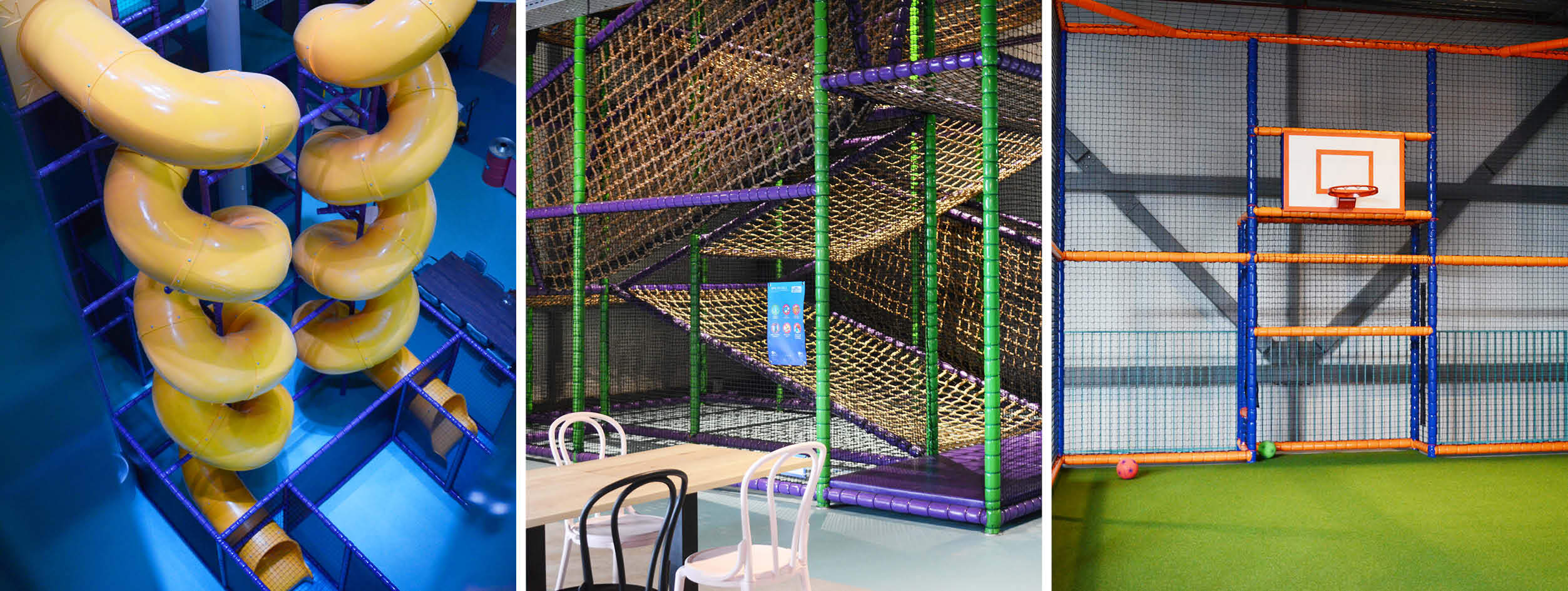 Indoor playground events