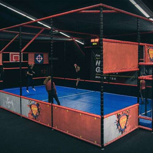 Interactive Multi sport arena - trampoline parks and playgrounds