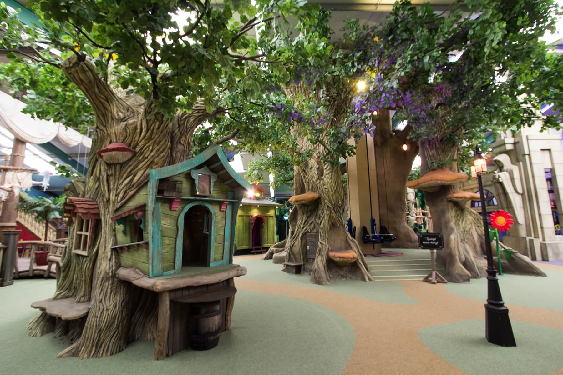Indoor playstructure Kids Wonderland Molenschot - ELI Play