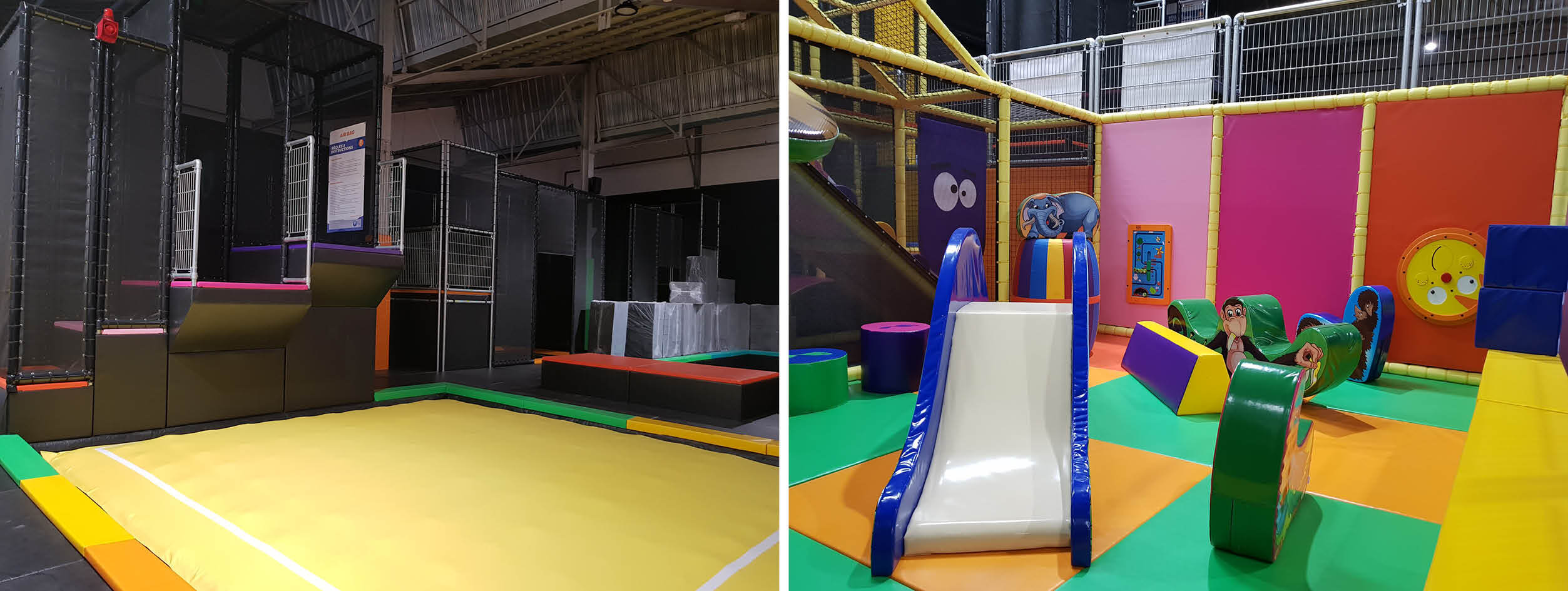 Trampoline park and playground You Jump